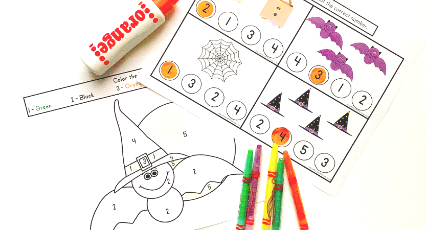 Free Halloween Fine Motor Activity Pack