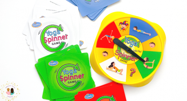 Toy Review: Yoga Spinner Game