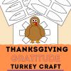 Thanksgiving Gratitude Turkey Craft for kids