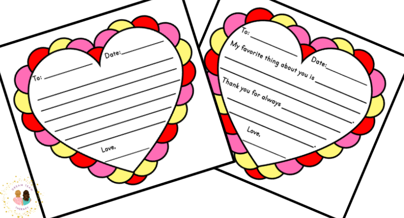 Free Valentine's Day Letters for Kids
