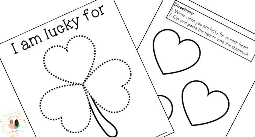 Free Lucky Shamrock Activity