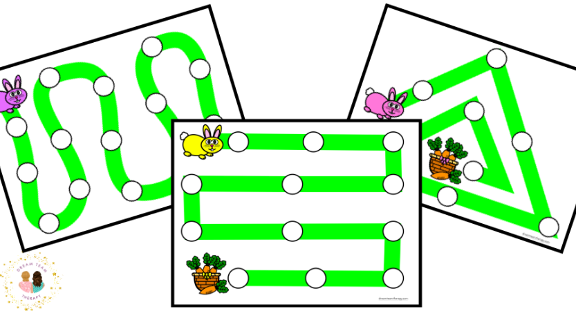 Bunny Hop Dot Marker Activity
