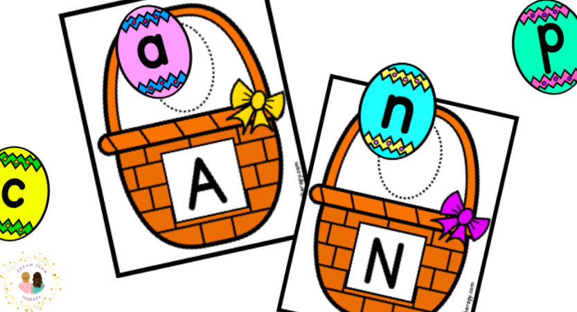 Easter Egg Letter Matching Printable