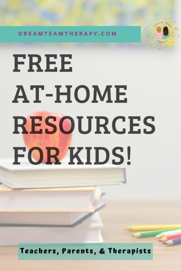 Free At-Home Educational Resources for Kids! Perfect for parents, teachers, and therapists! Explore websites containing reading, science, and math worksheets for home schooling.