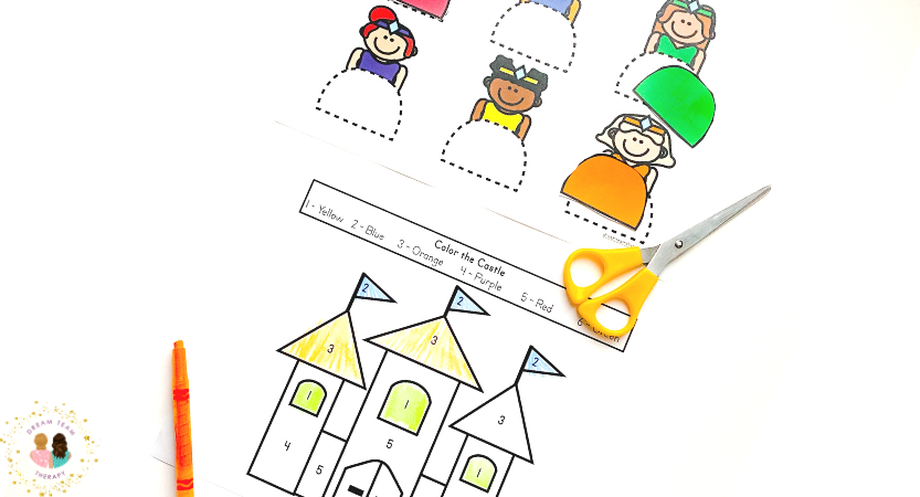 Princess Fine Motor Activity Pack