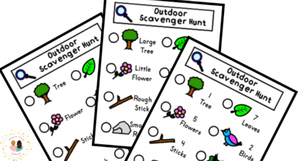 Free Outdoor Scavenger Hunt for Kids
