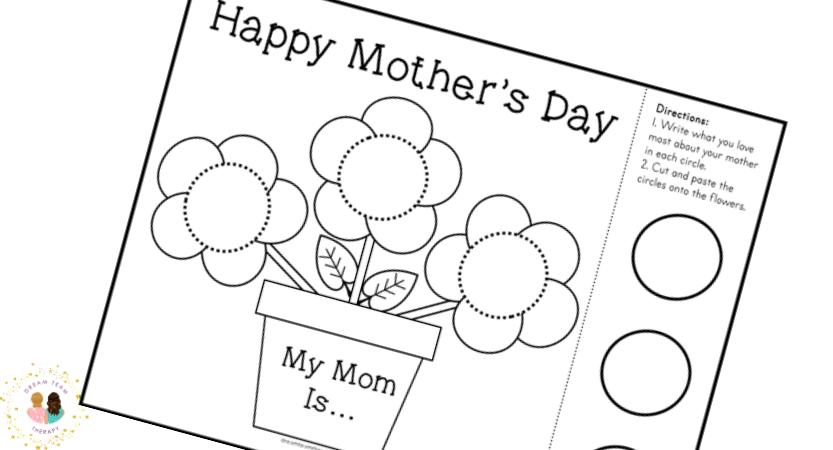 Free Mother's Day Flowers Printable